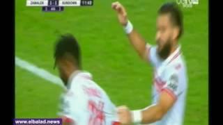 15 دقيقة.. ستانلى يهدر هدفا للزمالك.. وباسم مرسي ينجو من الطرد أمام صن داونز.. فيديو