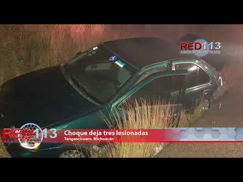 VIDEO Choque deja tres lesionadas