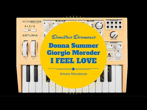 Donna Summer/Giorgio Moroder | I feel love sequence | Arturia Microbrute
