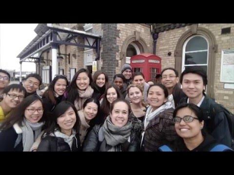 Chevening scholars learning Cricket at Loughborough University