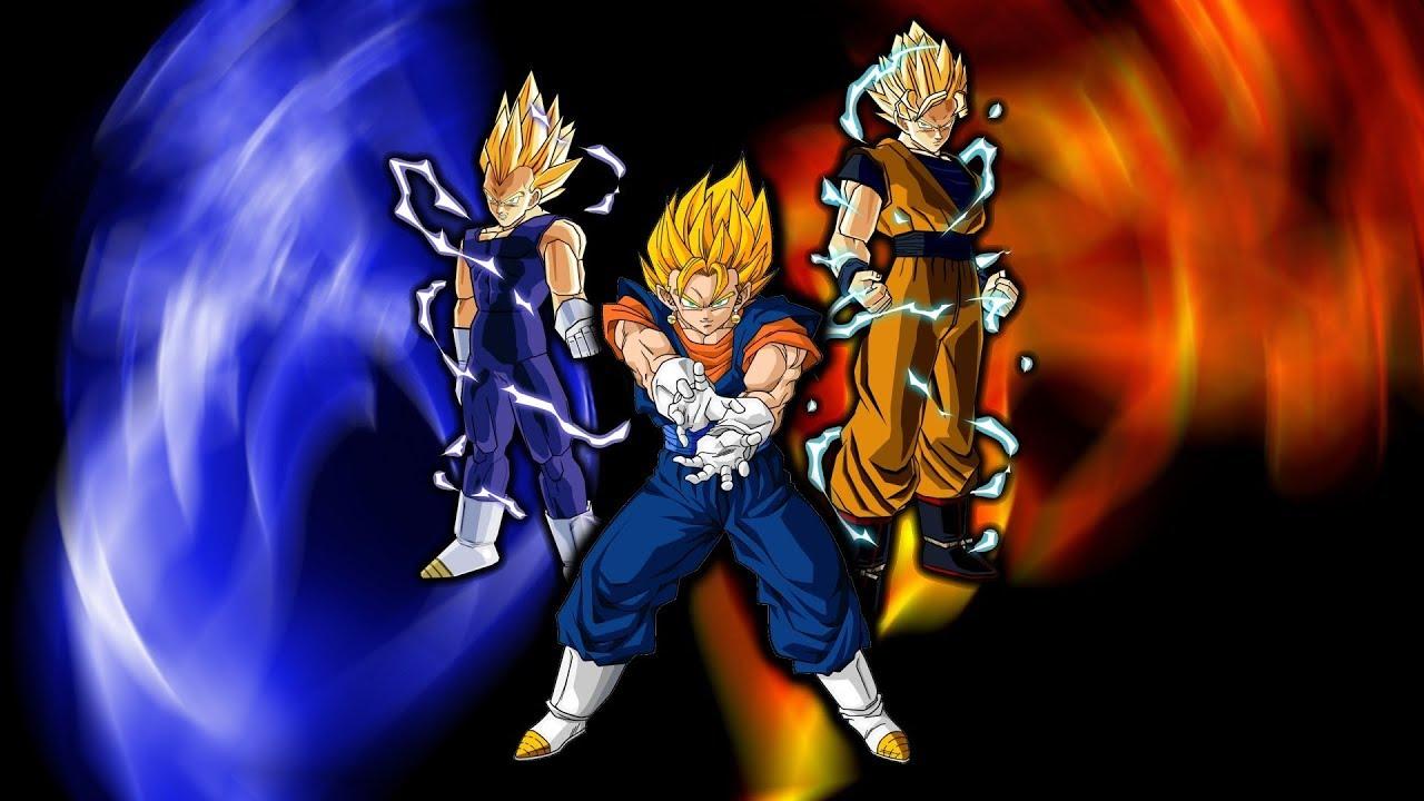 Son Goku hợp thể với Cadic đánh nhau với Mabu | Dragon Ball