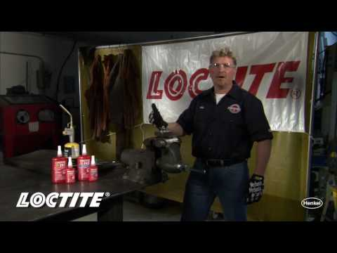 How to Disassemble & Remove Loctite Red High Strength Threadlocker