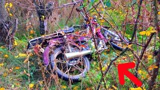 ШОК!! Нашли украденный мотоцикл. Вот это удача.