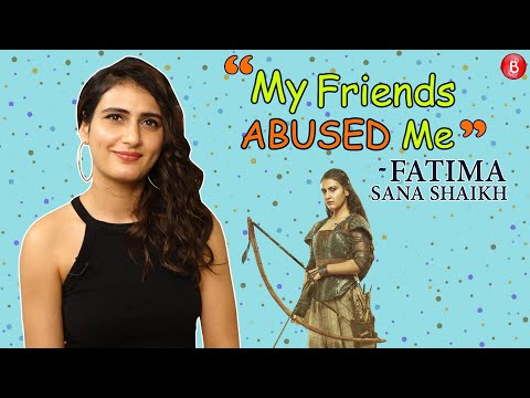 Fatima Sana Shaikh REVEALS how her friends keep ABUSING for her acting Mp3