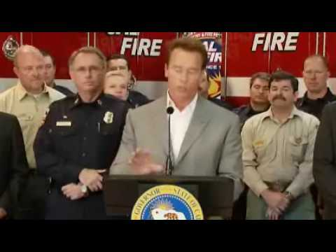 Gov. Schwarzenegger Issues Executive Order to Boost State's Wildfire Preparedness and Resources