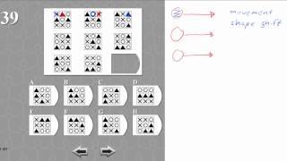 IQ TEST matrix 39 SOLVED AND EXPLAINED