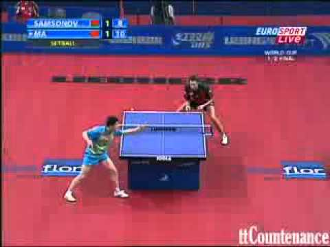 Ma Long vs Vladimir Samsonov
