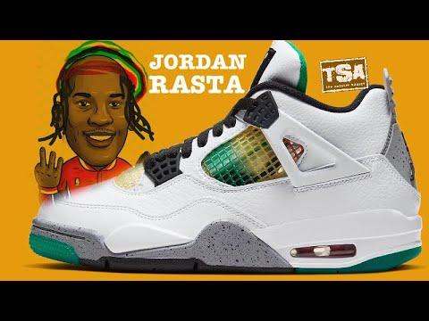 Air Jordan 4 Rasta Retro Sneaker