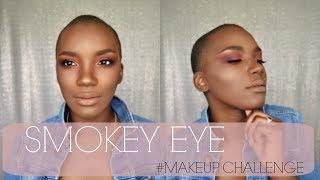 SMOKEY EYE | MAKEUP CHALLENGE | BEAUTY BY KANDI