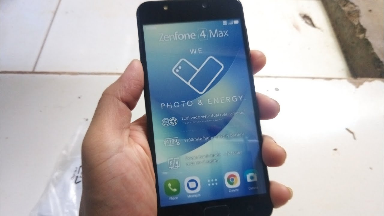 Unboxing Fake Dummy Phone Asus Zenfone 4 Max Review Indonesia