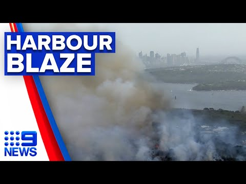Planned hazard reduction control spirals out of control | 9 News Australia