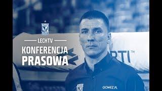 Konferencja prasowa po meczu Lech Poznań - KRC Genk 1:2
