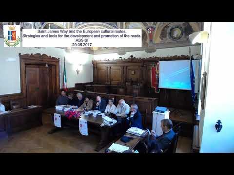 European Federation of Saint James Way - General Assembly - ASSISI (Comune di Assisi)