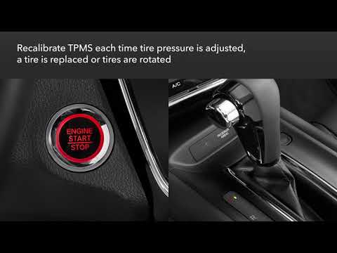 Honda HR-V: How to Calibrate the Tire Pressure Monitoring System (TPMS)