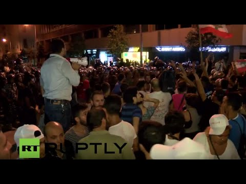 LIVE: Violent protests continue in Beirut