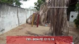 Centro de Educação Infantil da Boa fé em 12 de dezembro de 2016, a Limoeiro que Dr Zé Maria recebeu