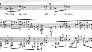Arnold Schoenberg - Tot - Opus 48 n. 2