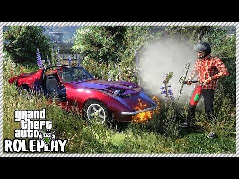 GTA 5 Roleplay - Ultimate Drag Race!! 'BROKEVETTE' VS 'MONSTER' Pontiac | RedlineRP #632