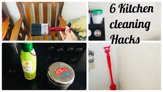 6 useful kitchen cleaning tips&ideas {tamil|| kitchen&house cleaning hacks part3