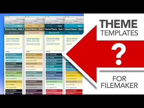 FileMaker Themes & Layout Templates - YouTube