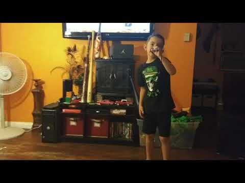 "6 year old FREESTYLING Bib Mason aka DJ MASE"" KICKS NIKE JORDANS"""