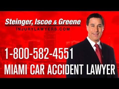 Miami Car Accident Lawyer - Call 1-800-582-4551