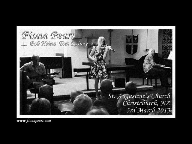 Fiona Pears - Live at St. Augustine's, NZ (2013)