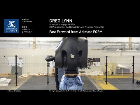 Greg Lynn - Fast Forward from Animate FORM