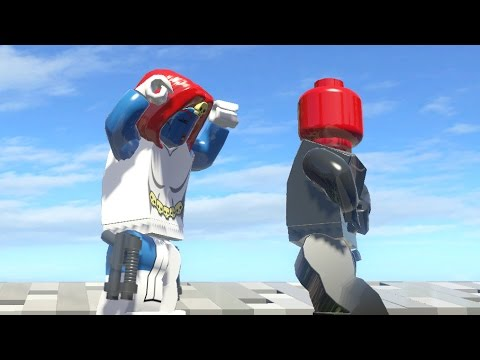 LEGO MYSTIQUE VS RED SKULL (Battle) - LEGO Marvel Super ...