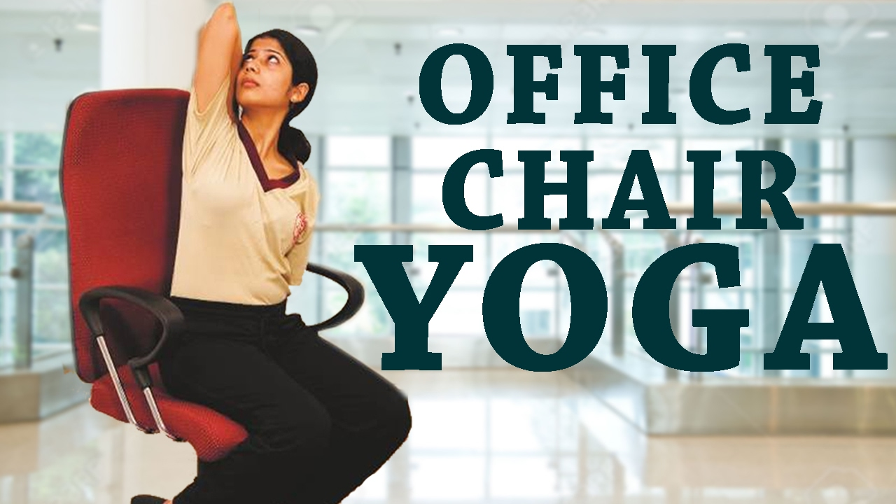 simple yoga for office workers| 5 simple office yoga poses for