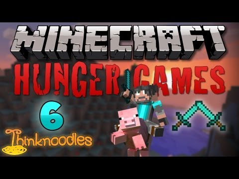 Minecraft: Hunger Games w/Thinknoodles - Game 6: Diamond vs Diamond Travel Video