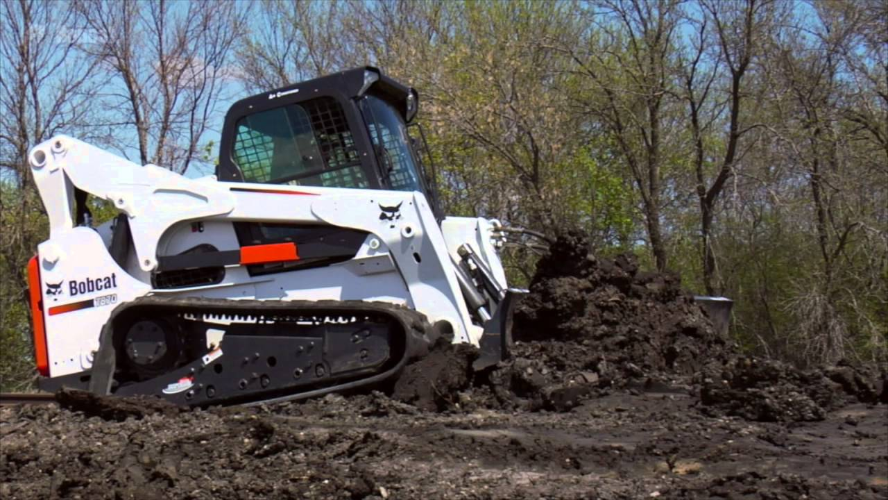 Watch It Work Bobcat T870 Compact Track Loader Youtube