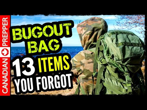 13 Items You Will Want in Your Bugout Bag