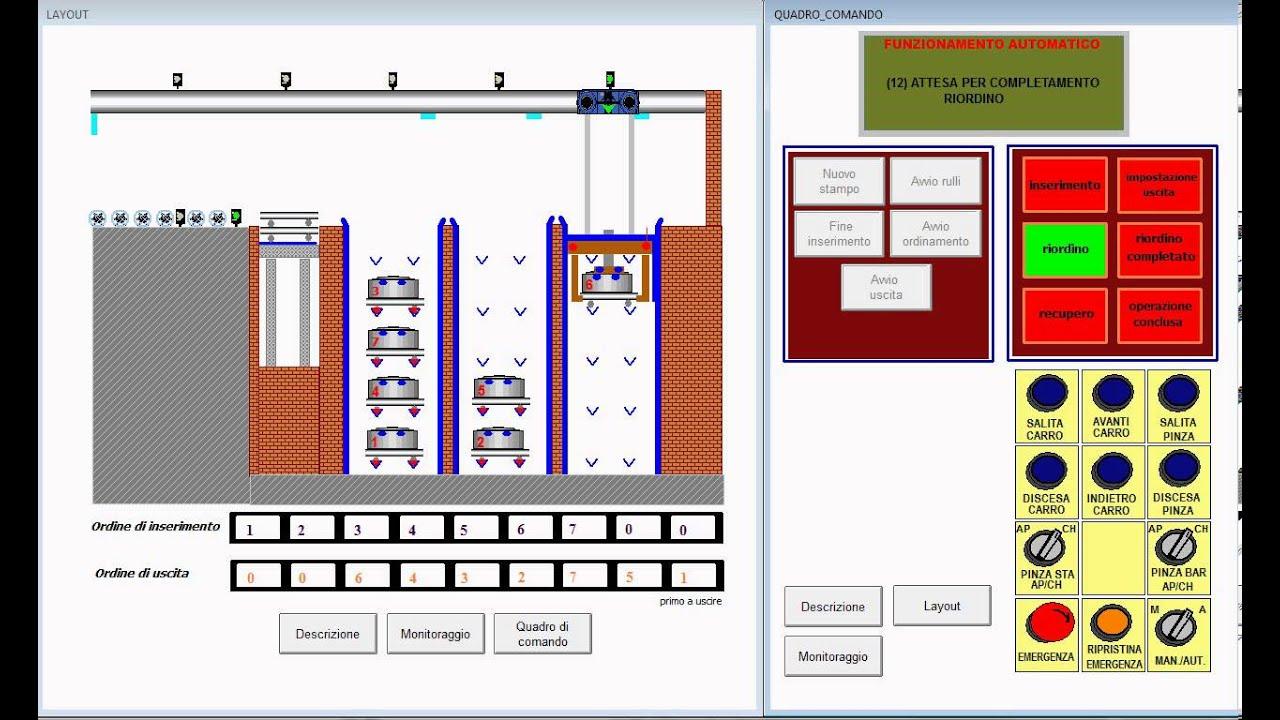 Smart Project Omron 2013, Magazzino Verticale Interrato