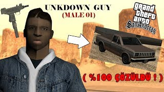 GTA SANANDREAS UNKNOWN GUY GİZEMİ ! (%100 ÇÖZÜLDÜ !)