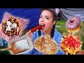 CRAZY FAIR FOOD CHEAT DAY (fried snickers and poptart?!)