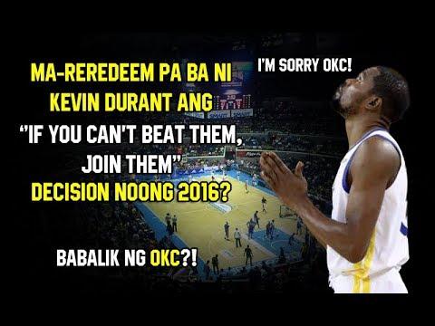 Kevin Durant Maibabalik Pa Ba Ang Tiwala ng mga Fans? | Babalik sa OKC?