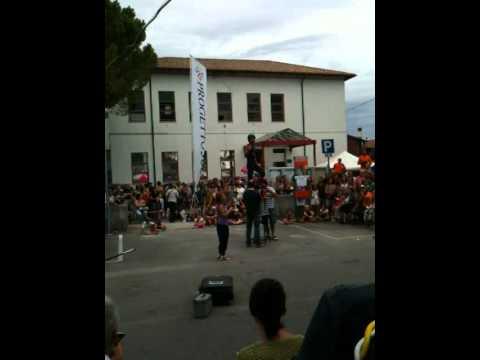 Staranzano Buskers Festival 2011 - Kiki Ray: La Bomba