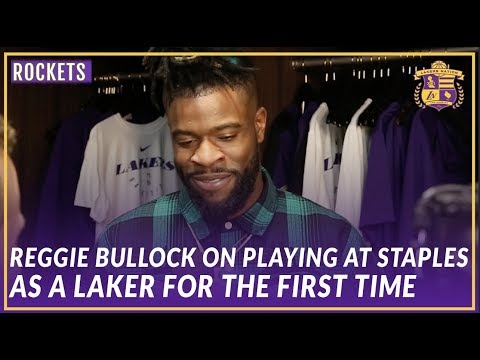 Lakers Post Game: Reggie Bullock On His First Game At Staples As a Laker