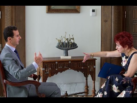 President Bashar Al-Assad's interview given to Russia's
