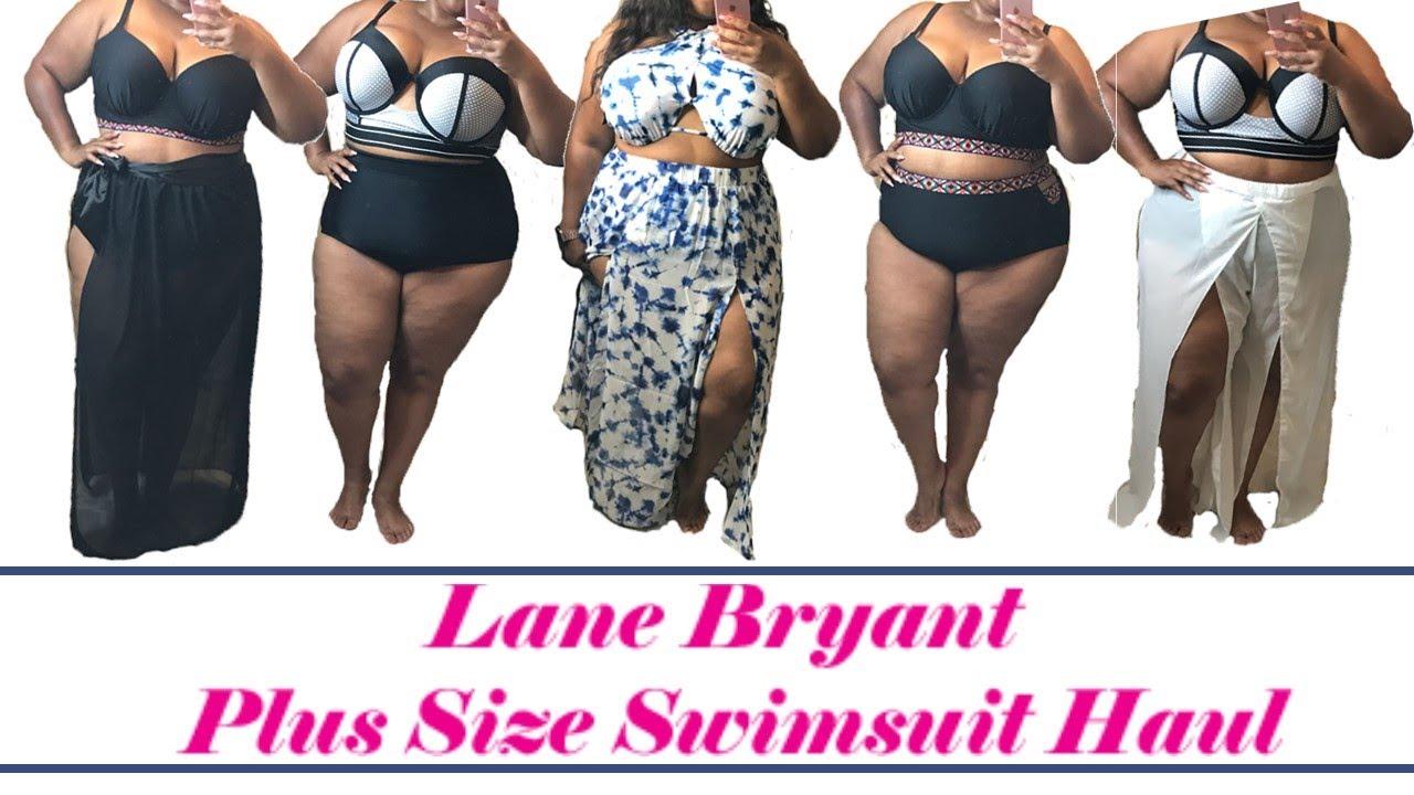 e583f45643438 Lane Bryant Swimsuit Try-on Haul - YouTube