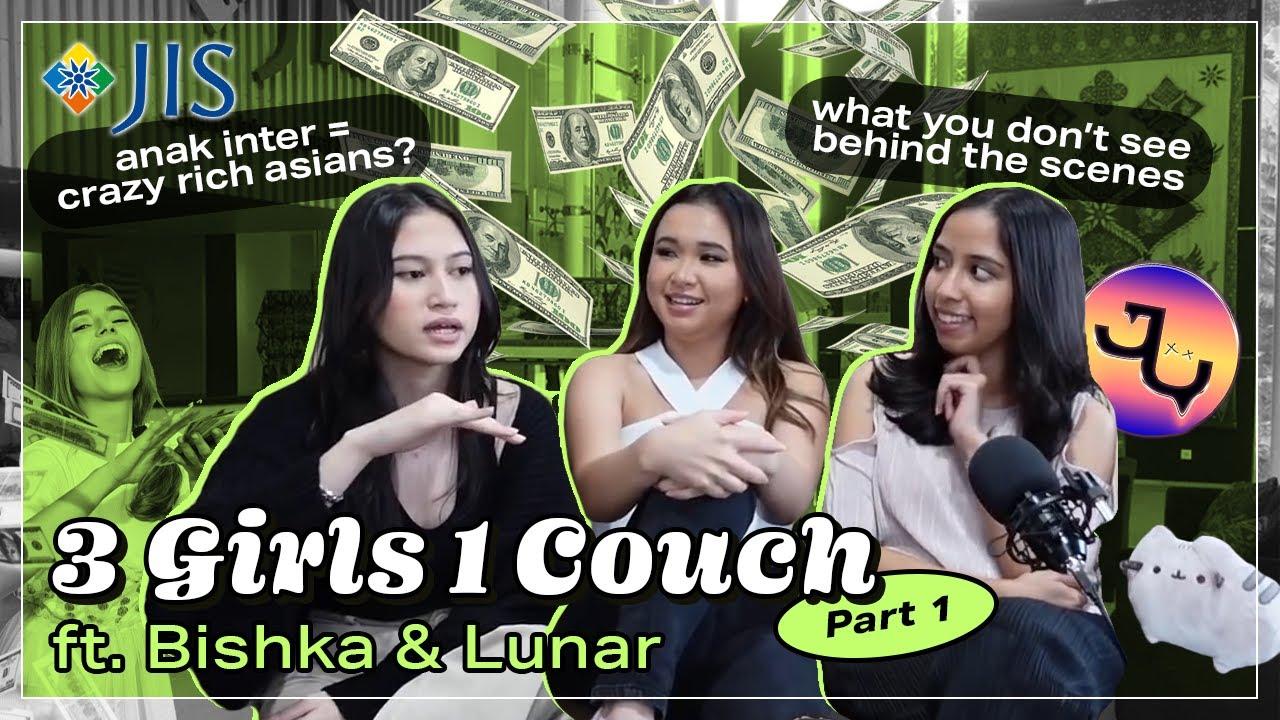 Download 3 Girls 1 Couch, Part 1 ft. Bishka & Lunar | ItsIndahG