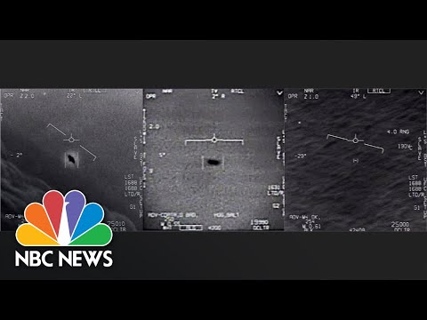 UFOs: Retired Navy Commander Describes His Sighting In 2004 | The Overview | NBC News