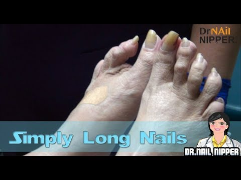 Simply Long Nails
