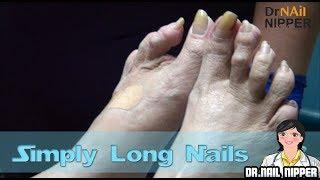 Simply Long Nails