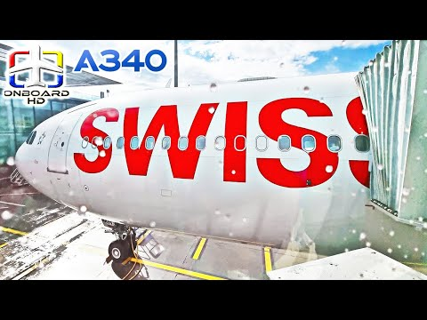 TRIP REPORT   Excellence on the SWISS A340! ツ   London to Zurich   SWISS A340-300