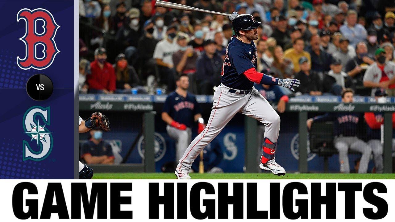 Download Red Sox vs. Mariners Game Highlights (9/14/21) | MLB Highlights