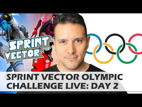 MRTV SPRINT VECTOR OLYMPIC CHALLENGE: DAY 2 - WHO IS THE FASTEST VR YOUTUBER ON EARTH?