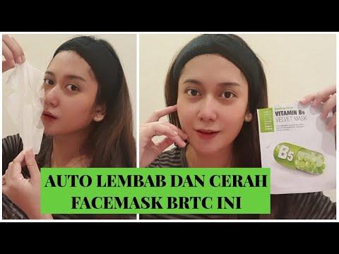 FACEMASK BRTC VELVET B5 BY BRTC INDONESIA