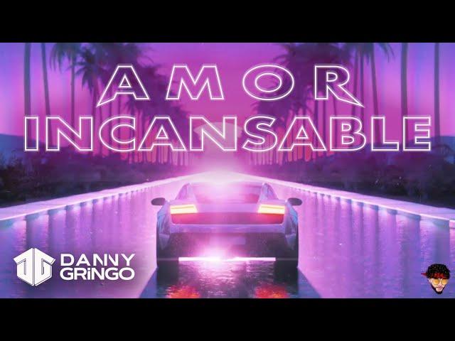 Danny Gringo - Amor Incansable 💜 (Lyric Video)
